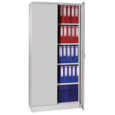 Demontabele draaideurkast 195 x 91,5 ( of 120 breed) x 42 inclusief 4 laterale legborden in diverse kleuren