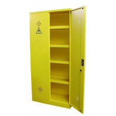 Milieukast / Chemiekast / Veiligheidskast / Vloeistoffenkast 195 hoog inclusief 4 verstelbare lekvrije legborden