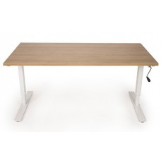 VDB Moderne Traploos Verstelbare Bureautafel dmv slinger, incl. Blad. Leverbaar in diverse kleuren en maten. GRATIS MONTAGE