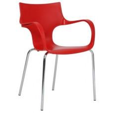 De Originele Designstoel / kantinestoel / vergaderstoel JIM Diwar  uit voorraad leverbaar in 16 kleuren