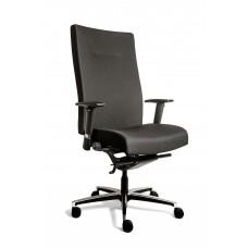 Bureaustoel Manager XL, in stof Oasis Zwart Norm (N)EN 1335.    GRATIS VERZENDING.