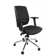 Bureaustoel TT2 Donati Plus zwart: Professionele ergonomische bureaustoel met DONATI mechaniek en EN-1335 goedkeuring