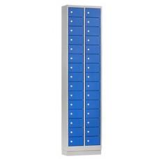 Mini lockers in 10/15/20/30 deuren in diverse kleuren. Voor al uw kleinere persoonlijk eigendommen ( telefoon/portemonnee)