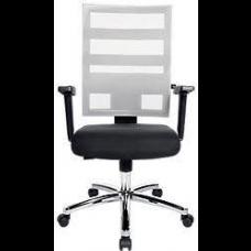 TOPSTAR Bureaustoel X-pander Zwart-Wit.  GRATIS VERZENDING.  Goedkoopste van Nederland