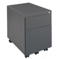 Rolblok 2 laden 55 x 40 x 60 in de kleur Grijs, Zwart, Aluminium of Wit