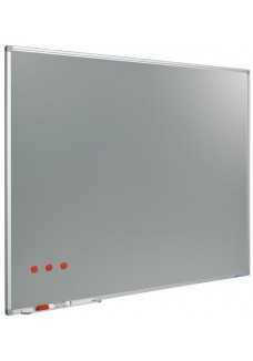Softline metallic silverboard 90 x 180 cm