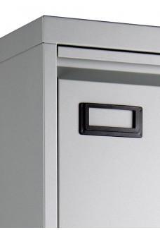 Dossierladekast 3 laden geschikt voor A4 en folio hangmappen|VDB Kantoortotaal Alu