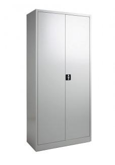 Draaideurkast 195 cm grijs