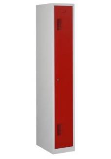 Garderobekast 1 deur rood