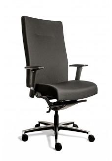 Bureaustoel Manager XL, in stof Oasis Zwart Norm (N)EN 1335|VDB Kantoortotaal