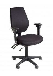 Bureaustoel PESCARA Zwart/Zwart