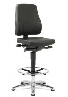 Werkstoel/Industry Se7en Industry PUR zwart|VDB Kantoortotaal