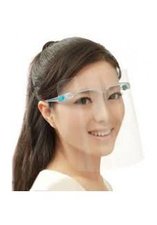 Shield with Glasses plastic. (Beschermingsmasker)|VDB Kantoortotaal