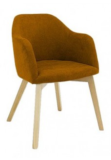 Fauteuil Theos mosterd