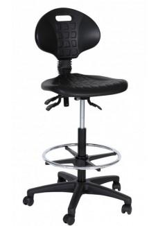 Techniker/Werkstoel/Loketstoel met voetring|VDB Kantoortotaal