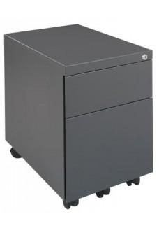 Rolblok 2 laden 55 x 40 x 80 in de kleur Grijs, Zwart, Aluminium of Wit|VDB Kantoortotaal