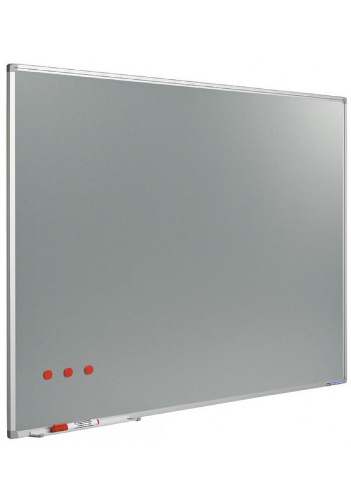 Softline metallic silverboard 100 x 200 cm