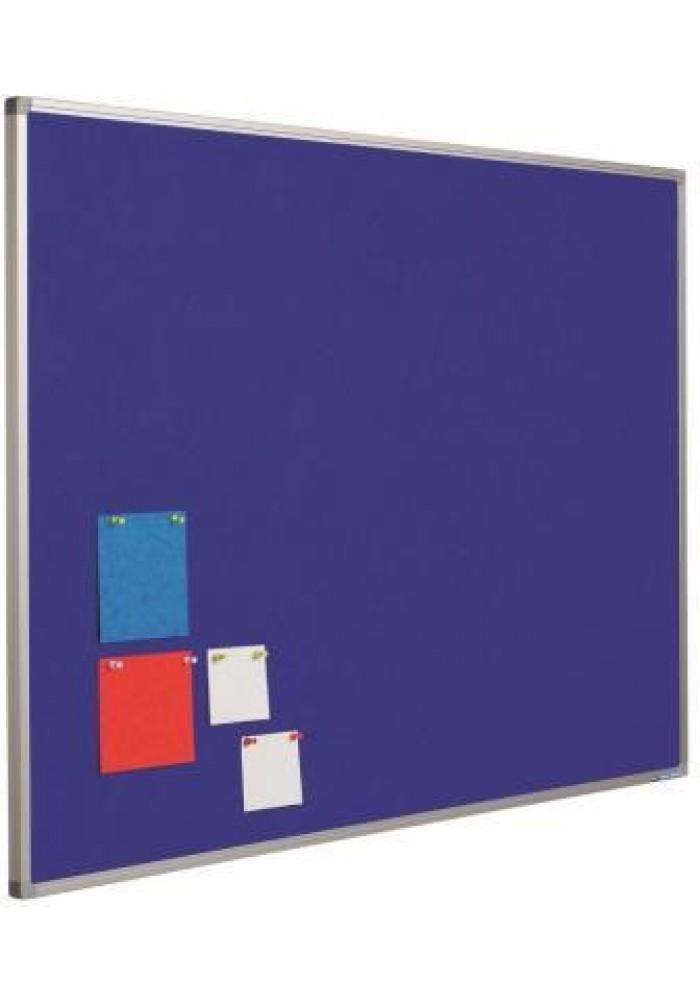prikbord budget blauw