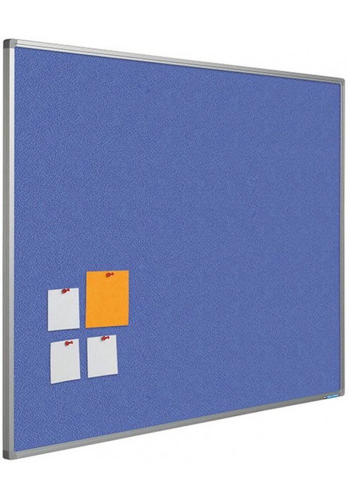 Prikboard bulletin 90 x 180 blauw
