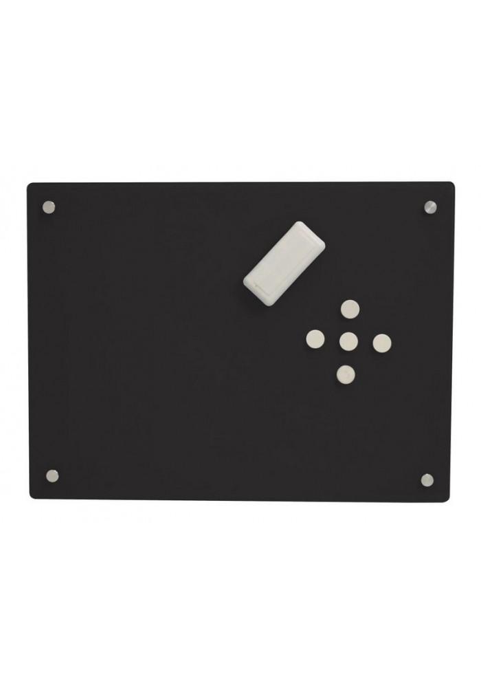 Glasbord glass2 zwart