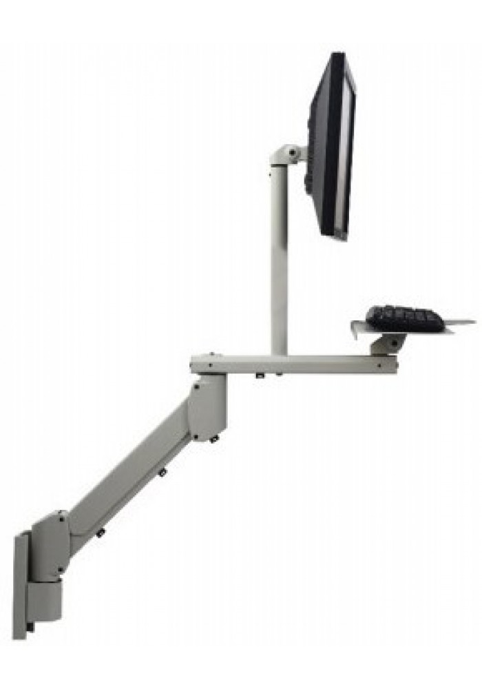 Monitorarm incl toetsenbord en gaslift