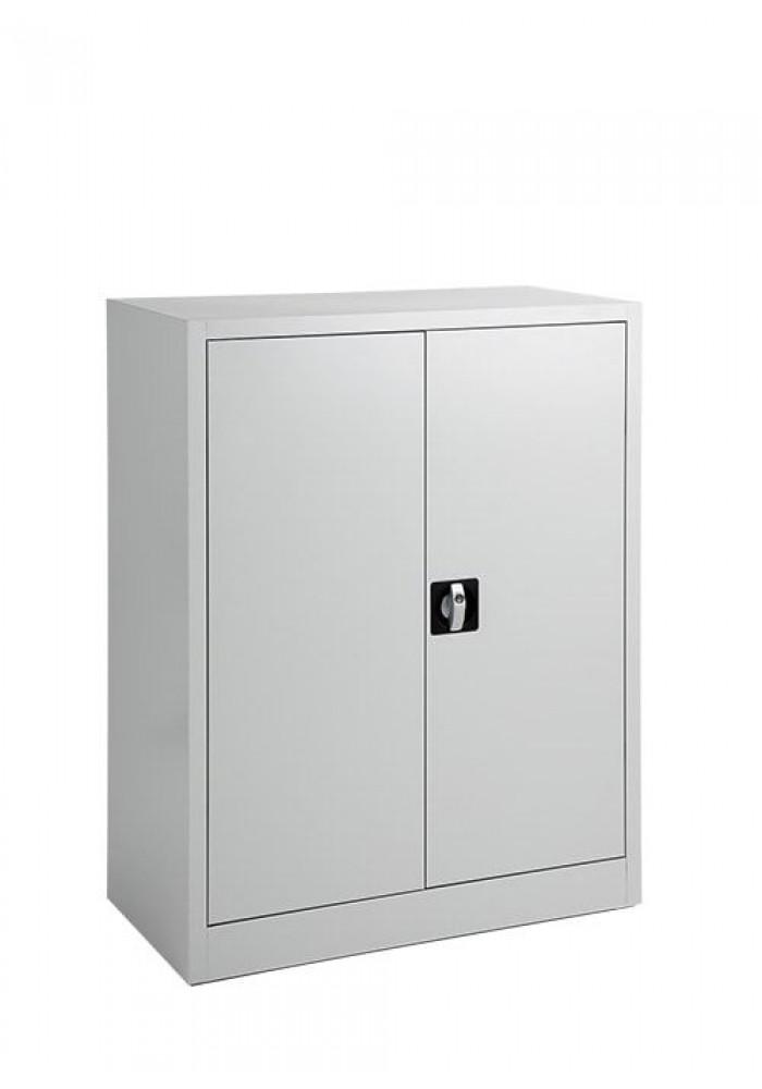 Draaideurkast/Ordnerkast/Archiefkast 100 Wit hoog inclusief 1 legbord|VDB Kantoortotaal