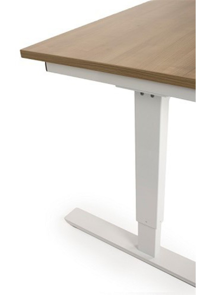 VDB traploos verstelbaar bureautafel dmv slinger 120 x80|VDB Kantoortotaal
