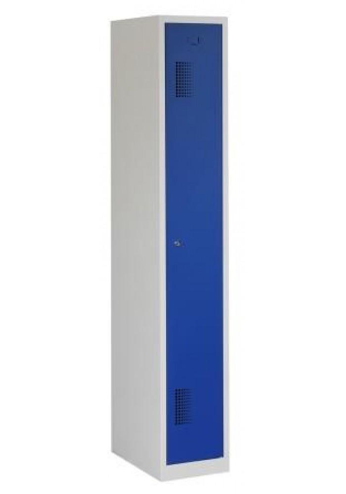 Garderobekast 1 deur blauw