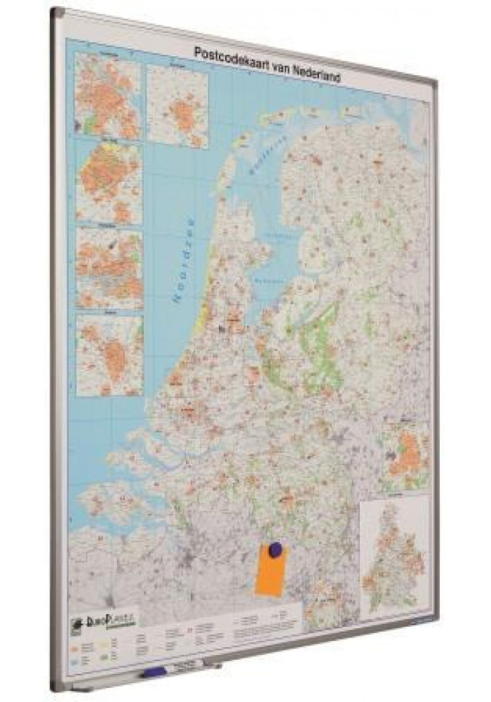 landkaart softline postcode nl