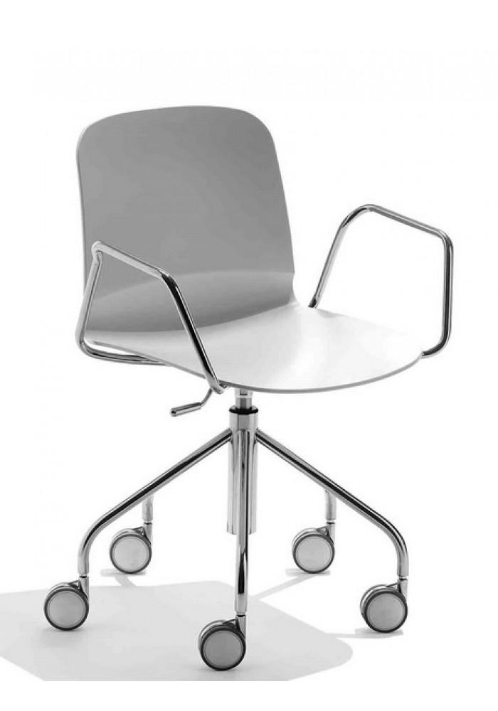 LIu midj bureaustoel met armleggers  VDB Kantoortotaal