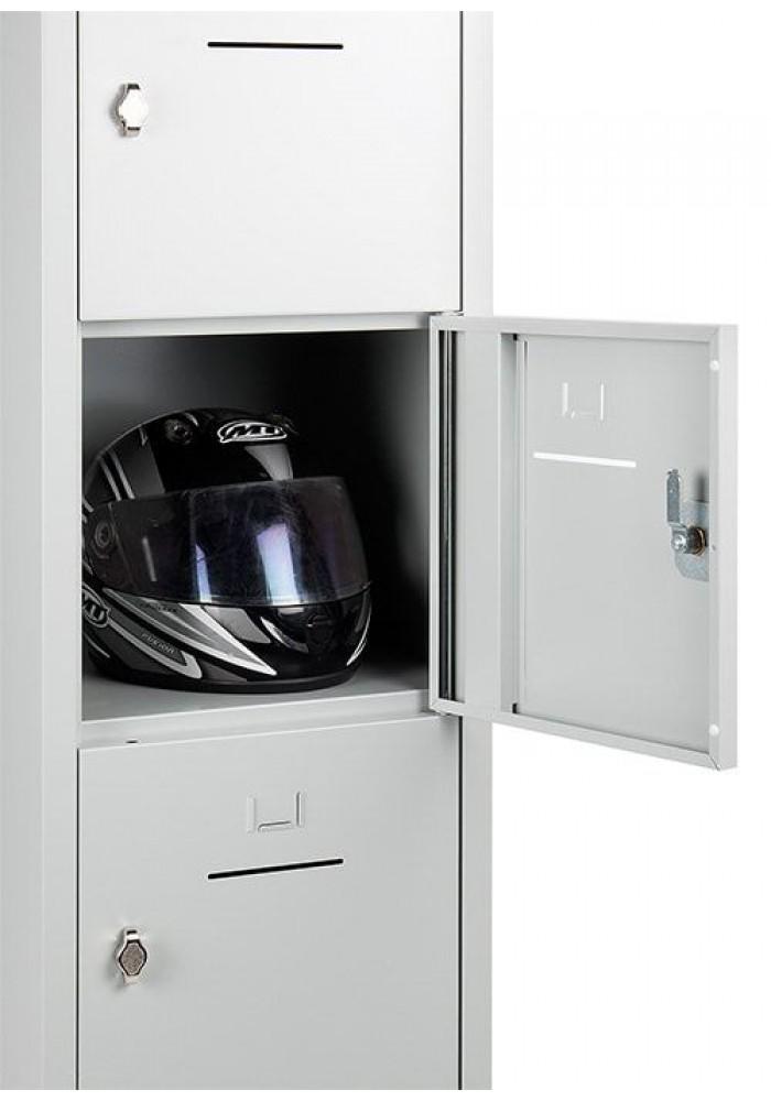 Lockerkast SHC 5 deurs Grijs|VDB Kantoortotaal