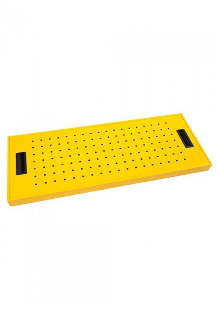 Milieukast/Chemie/Veiligheidskast/Vloeistoffenkast 195 hoog met 4 legborden|VDB Kantoortotaal