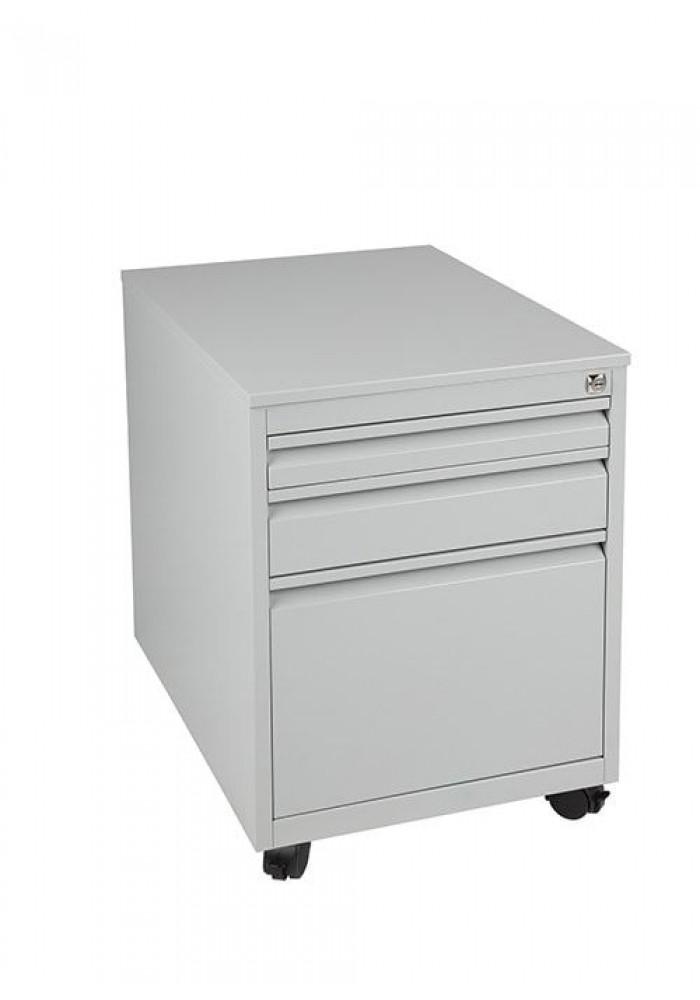 Rolblok 2 laden + 1 pennenlade (MPG Plus)  55 x 40 x 80 in de kleur Grijs, Zwart, Aluminium of Wit|VDB Kantoortotaal