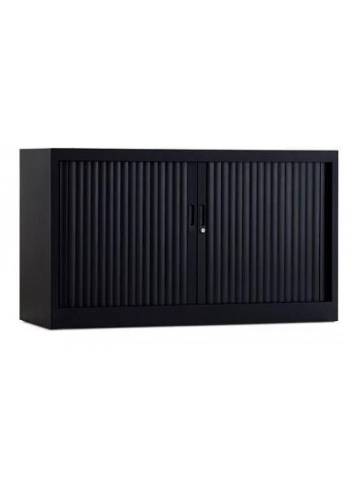 roldeurkast 120-70 cm zwart