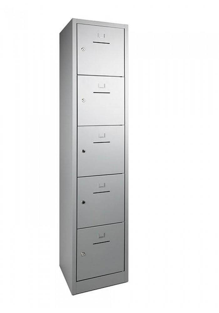 Lockerkast SHC 5 deurs Aluminium|VDB Kantoortotaal