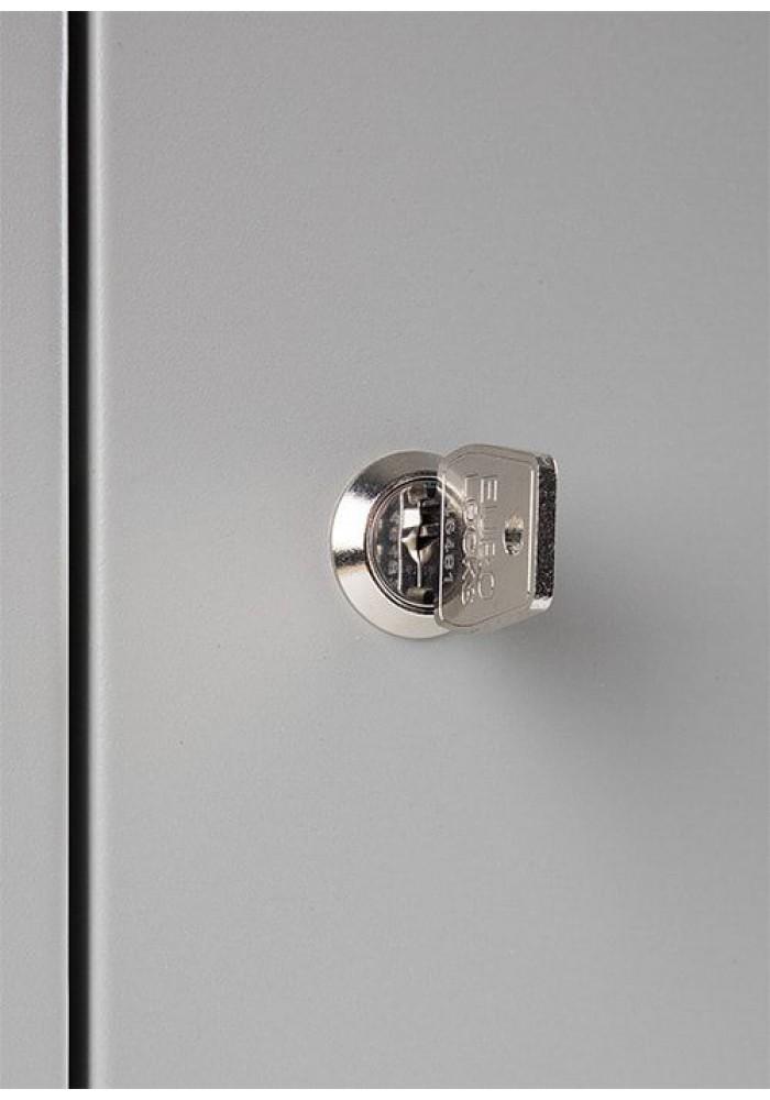 Lockerkast SHC 5 deurs Cilinderslo|VDB Kantoortotaal