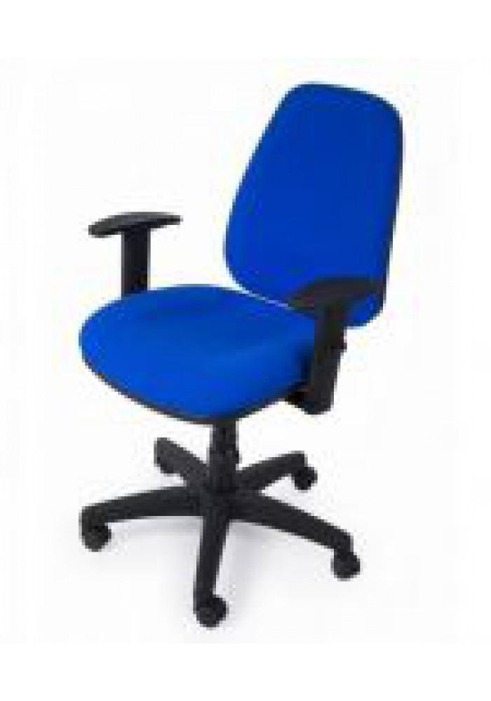 Bureaustoel sitland NO1 voorkant Blauw