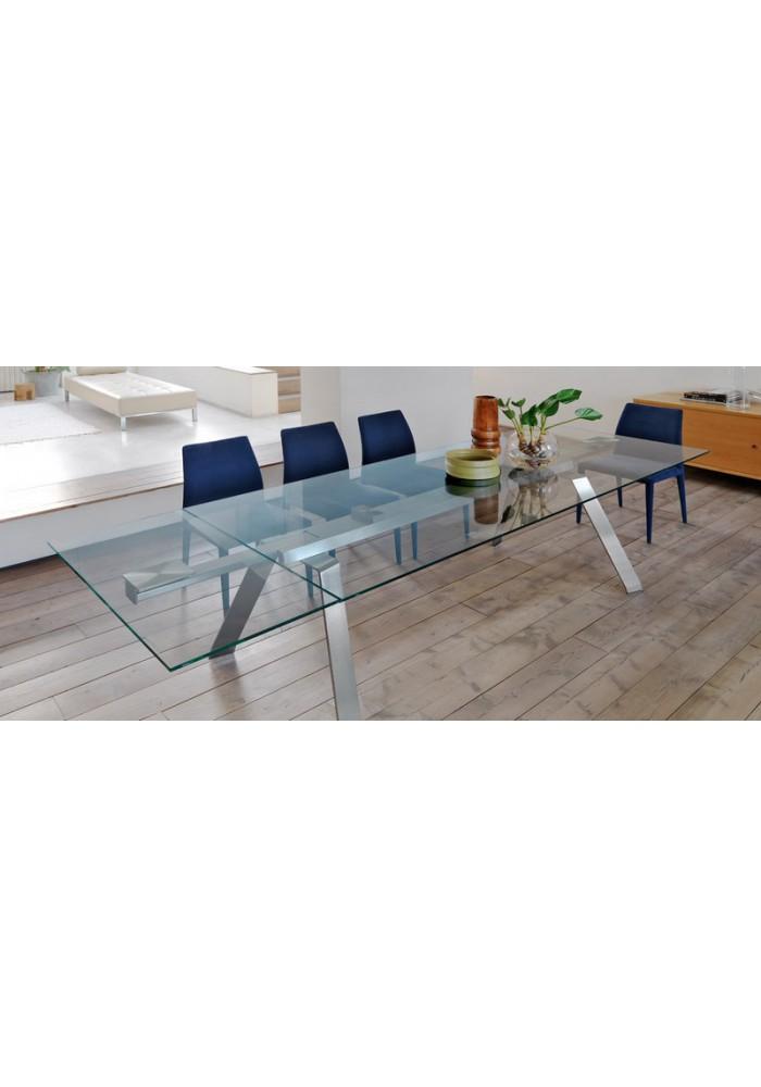 Midj toronto tafel 300 x 106 glas VDB Kantoortotaal