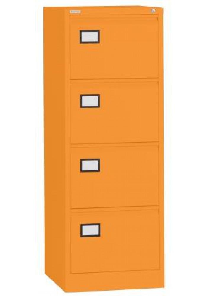 triology hangmapkast 4 laden oranje