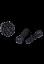 NIEUW Beschermdoppen D in alle poten waarin schroefdraad M10 zit beschermvoetje  doorsnede 34 mm  Voorkom krasschade aan vloeren. Per 4 verpakt.